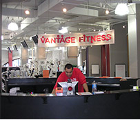 A Real Gym - Vantage Fitness